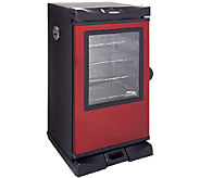 Masterbuilt 30 4 Rack Electric Smoker w/Cover, Recipes & Accessories - K41147