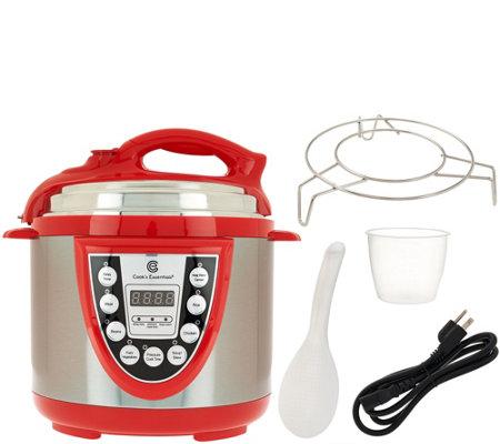 Cook S Essentials 4 Qt Digital S S Pressure Cooker W
