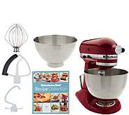 KitchenAid 4.5qt. 300W Tilt Head Stand Mixer with 3qt. Bowl - K46647