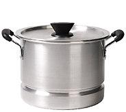 Casa Maria 12-qt Aluminum Stock Pot/Steamer - K303448