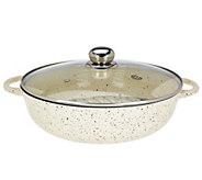 As Is Cooks Essentials 12 Round Cast Iron Braiser Pan - K307448