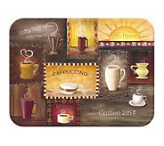 Tuftop Coffee Time Tempered Glass Kitchen Board - K125449