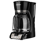 Black & Decker DCM2160B 12-Cup Programmable Coffee Maker - K129349