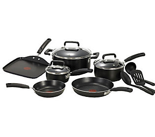 T Fal Signature 12 Piece Cookware Set Black