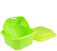 Gourmac 3-in-1 Berry Boxes, Set of 2 - K301549