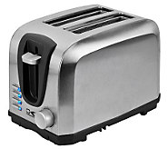 Kalorik 2-Slice Stainless Steel Toaster - K302549