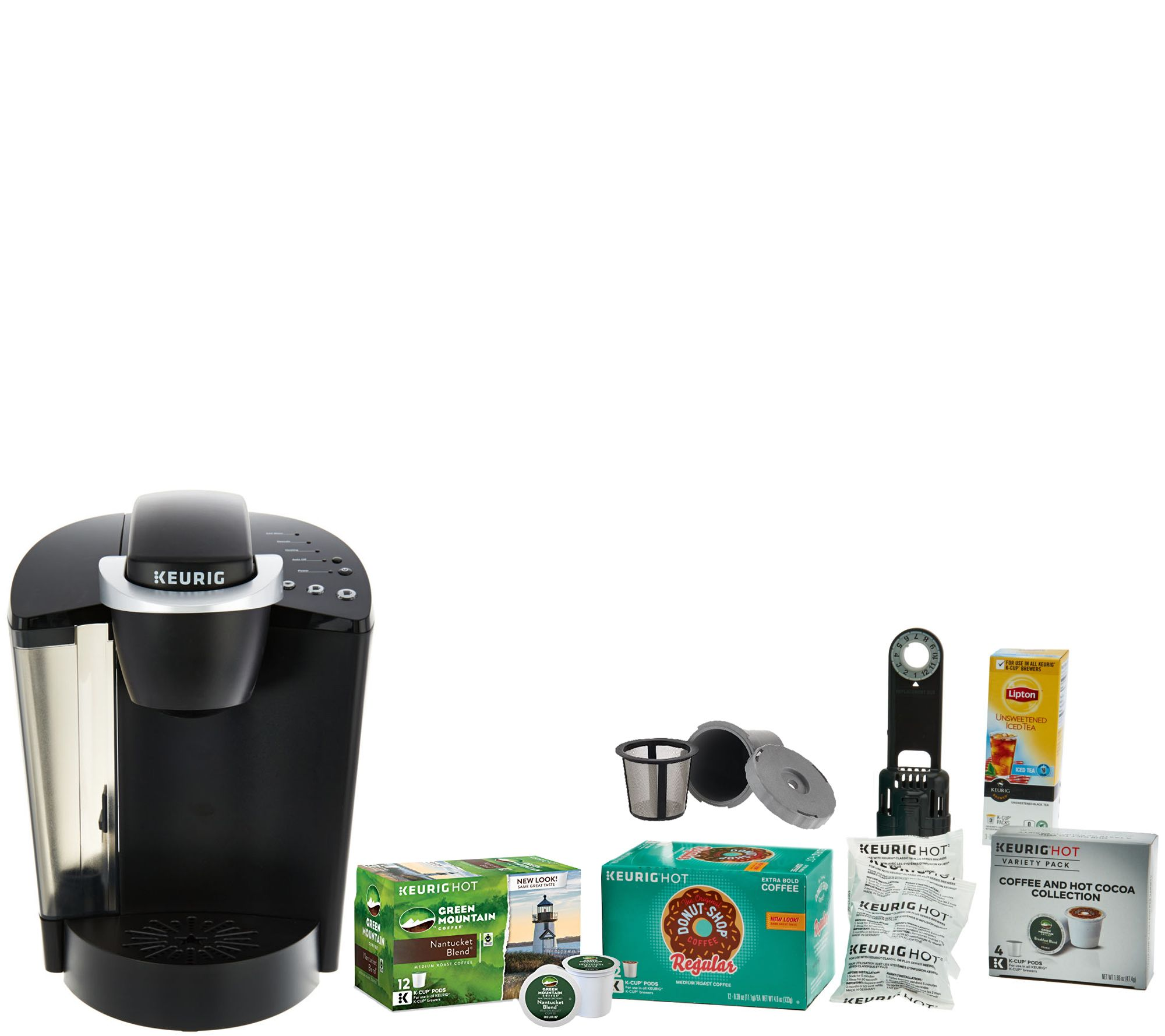 Coffee Maker For Pods : Keurig K55 Coffee Maker with My K-Cup, 31 K-Cup Pods & Water Filters - Page 1 QVC.com