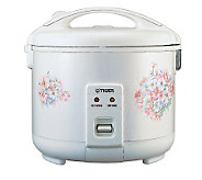 Tiger 3-Cup Rice Cooker/Warmer - K126550