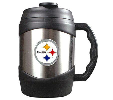 Nfl Pittsburgh Steelers 52 Oz Stainless Steel Macho Travel