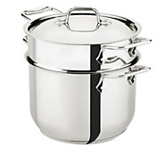 All-Clad 6-qt Pasta Pot - K304850