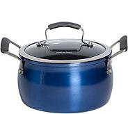 Epicurious 4-qt Covered Soup Pot - Arctic Blue - K306450