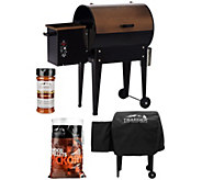 Traeger JR Elite 305 sq. in. Wood Fired Grill & Smoker - K43350