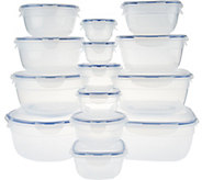 Lock & Lock 14pc Nestable Bowl & Zen Storage Set - K44450