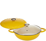 Valerie Bertinelli 4qt Lightweight Cast Iron Chefs Pot - K46650