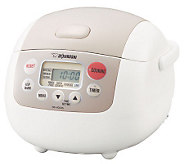 Zojirushi 3-Cup Micom Rice Cooker and Warmer - K125851