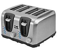 Kalorik 4-Slice Stainless Steel Toaster - K302551