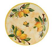 Pietra Italia Handmade Dinner Plate - K34551