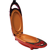 Red Copper 5-Minute Chef Grill Pan - K375651
