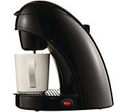 Brentwood 120W 1-cup Coffee Maker - K375751