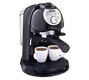 DeLonghi BAR32 Retro Pump-Driven 35-oz Espresso Maker - K120952