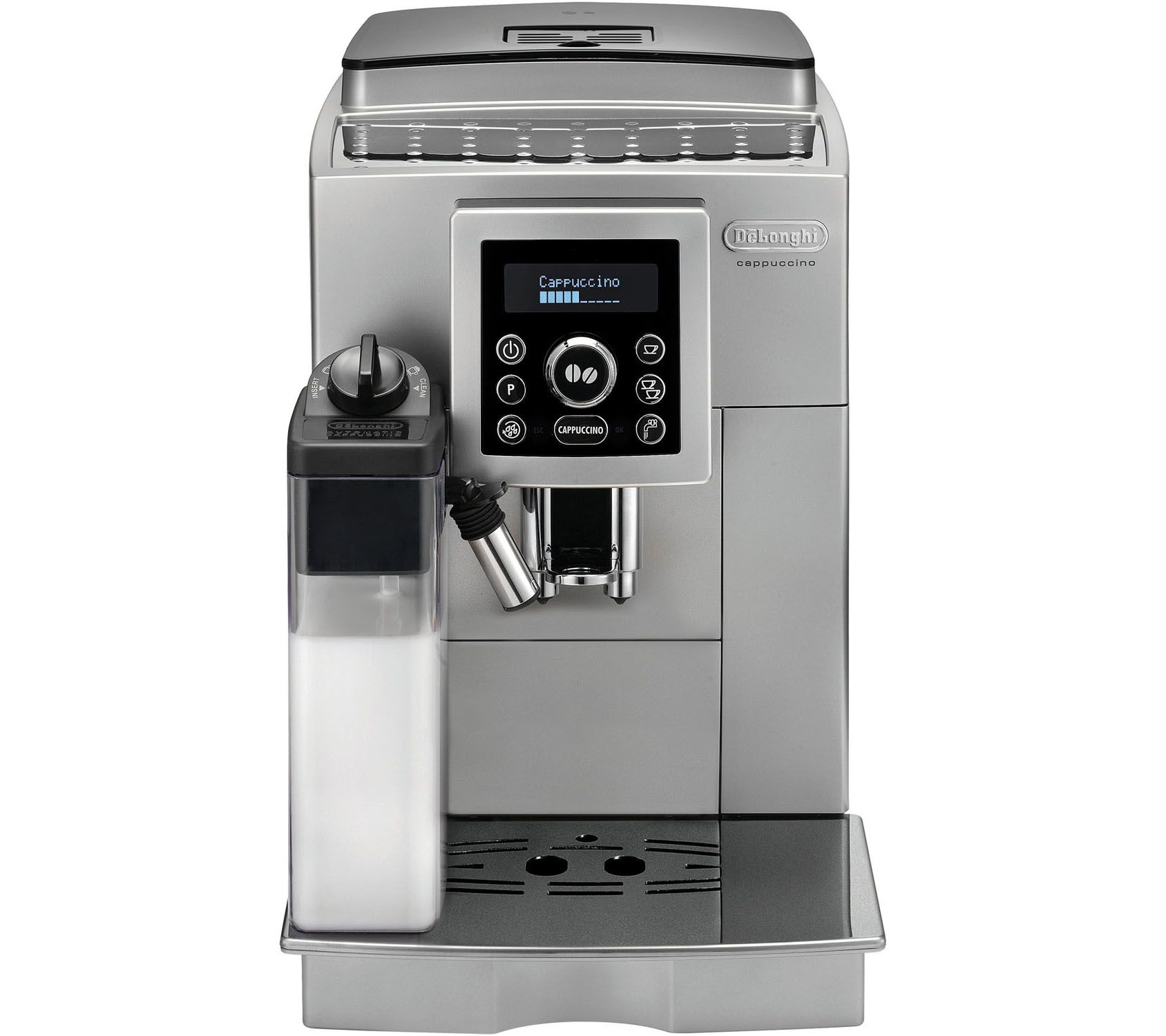 delonghi magnifica s cappuccino machine. Black Bedroom Furniture Sets. Home Design Ideas