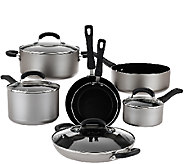 CooksEssentials 11-Piece Dishwasher Safe Cookware Set - K42352