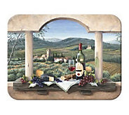 Tuftop Wine Country Tempered Glass Kitchen Board - K125453