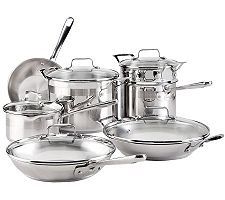 Emeril by All-Clad Chef Stainless Steel 12-Piece Set