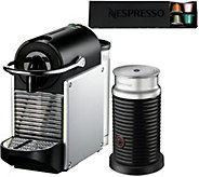 Nespresso Pixie Espresso Machine w/ Milk Frother by DeLonghi - K306653