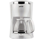 Brentwood 12-Cup Coffee Maker - White - K375753