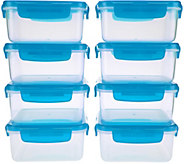 Lock & Lock 8 piece Square Storage Set - K44053