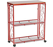 Cooks Essentials 3-Tier Collapsible Storage Cart - K45653