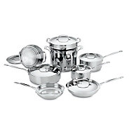 Cuisinart Chefs Classic Stainless Steel 14-Piece Cookware Se - K298154