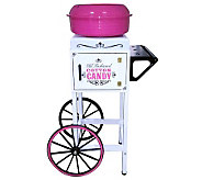 Nostalgia Electrics Hard & Sugar-Free Cotton Candy Cart - K300954