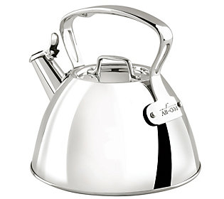 All Clad 2 Qt. Stainless Steel Tea Kettle