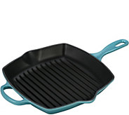 Le Creuset 10.25 Signature Square Skillet Grill - K306354