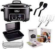 Ninja 3-in-1 6 qt. Nonstick Cooking System with Cookbook and Accessories - K39754