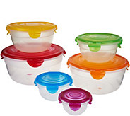 Lock & Lock Easy Match 6-Piece Bowl Storage Set - K46654