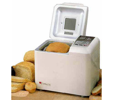 Kitchen Pro Collection | regal kitchen pro 1 5 lb bread maker white qvc com