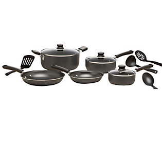 T Fal Admiration Nonstick 12 Pc Cookware Set Gray