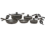 T-Fal Admiration Nonstick 12-Pc Cookware Set -Gray - K299655
