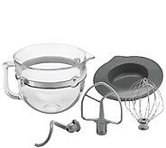 KitchenAid 6-Quart Glass Bowl Accessory Bundle - K303855