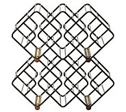 Gourmet Basics by Mikasa Stackable 12 Bottle Wine Rack - K305055