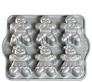 Nordic Ware Gingerbread Kids Cakelet Pan - K305155