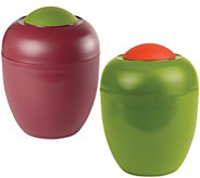 Gourmac Set of 2 Olive Keepers - K306755