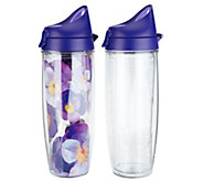Tervis Set of 2 24 oz. Double Wall Insulated Tumblers - K45655
