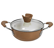 Anna Boiardi 1.5-qt Cast-Iron Enamel Covered Casserole - K303356
