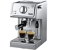 DeLonghi 15-Bar Pump Stainless Espresso and Cappuccino Machine - K306056