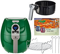 CooksEssentials 1500W Digital Air Fryer with Presets & Grill Rack - K43756