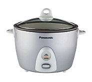 Panasonic SR-G18FG 10-cup Rice Cooker/Steamer with Basket - K126057